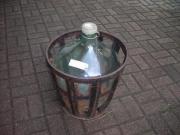 Korbflasche Glasbalon