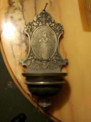 Kreuz, Uhr, Bild,