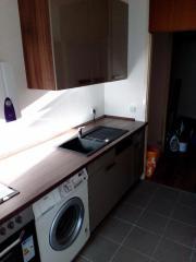 Küche aufbauen...., hier