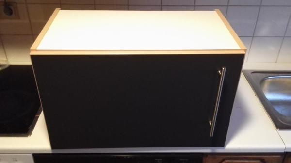 k che h ngeschrank dunkelblau grau 60 35 37cm in karlsruhe. Black Bedroom Furniture Sets. Home Design Ideas