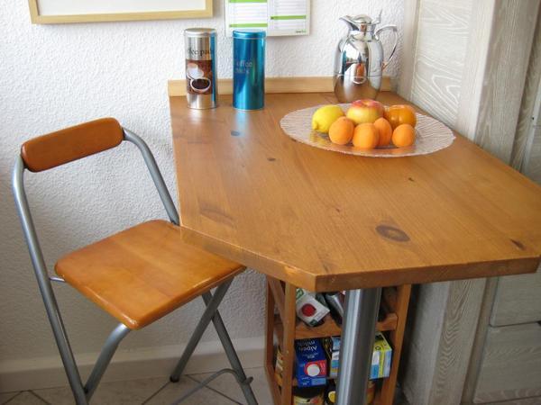 k chen bar tisch mit stuhl in niederkassel k chenm bel schr nke kaufen und verkaufen ber. Black Bedroom Furniture Sets. Home Design Ideas