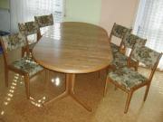 Kulissen Tisch Eiche