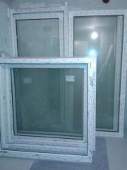 Kunststofffenster mit Markenisolierglas