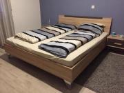 Kurzfristig: Doppelbett inkl.