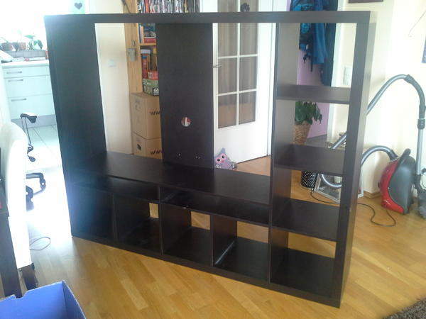 lappland tv m bel schwarzbraun ikea tv schrank in. Black Bedroom Furniture Sets. Home Design Ideas