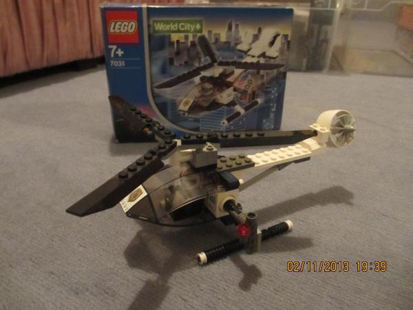 Lego world city spionage hubschrauber ab