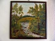 Leinwand Gemälde , rus.