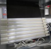 Leuchtstoffröhre mit Halter,