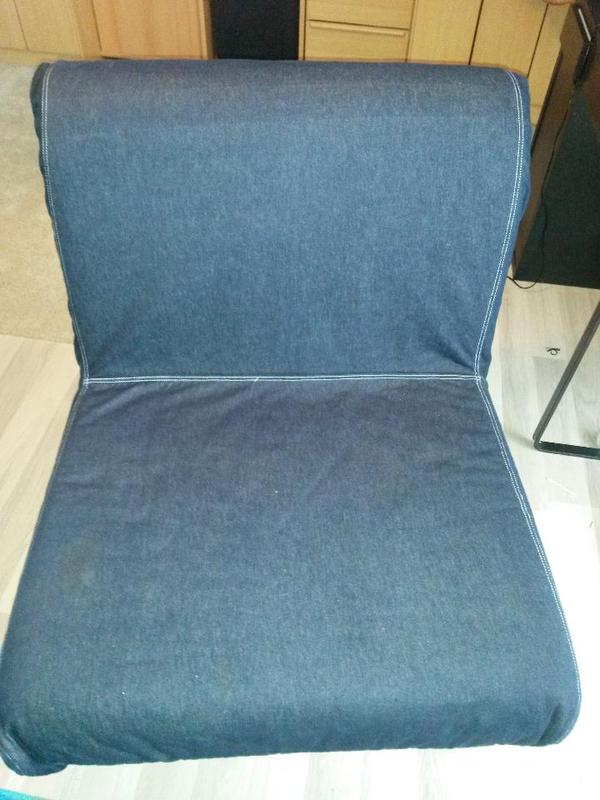 l vas schlafsessel dunkelblau von ikea in m nchen ikea m bel kaufen und verkaufen ber private. Black Bedroom Furniture Sets. Home Design Ideas