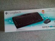 Logitech Funktastatur mk330