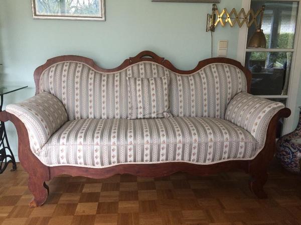 Louis philippe sofa biedermeier ca 1880 zu verkaufen for Suche gebrauchte couch