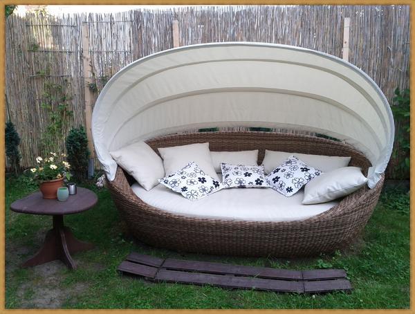 lounge sonneninsel gartenliege wie neu in keltern. Black Bedroom Furniture Sets. Home Design Ideas