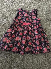 Mädchen Kleid 68