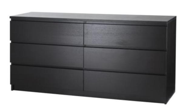 ikea kommode schwarzbraun hemnes kommode schwarzbraun hemnes kommode mit 5 schubladen wei. Black Bedroom Furniture Sets. Home Design Ideas
