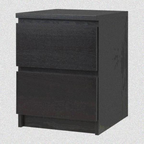 malm nachttisch kaufen gebraucht und g nstig. Black Bedroom Furniture Sets. Home Design Ideas
