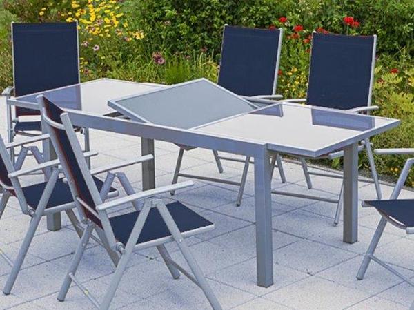 merxx gartentisch ausziehtisch 120 180 x 90 cm in gerstetten gartenm bel kaufen und. Black Bedroom Furniture Sets. Home Design Ideas