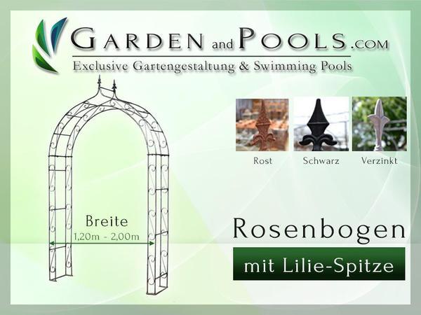 metall rosenbogen la pergola canzello di rose rose arches. Black Bedroom Furniture Sets. Home Design Ideas