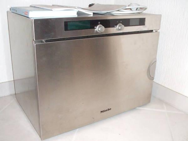 miele dampfgarer dg 2550 edelstahl in sinsheim k chenherde grill mikrowelle kaufen und. Black Bedroom Furniture Sets. Home Design Ideas