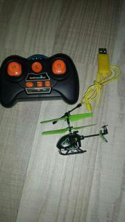 Mini Helikopter zu