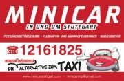 Minicar Fahrer Stuttgart