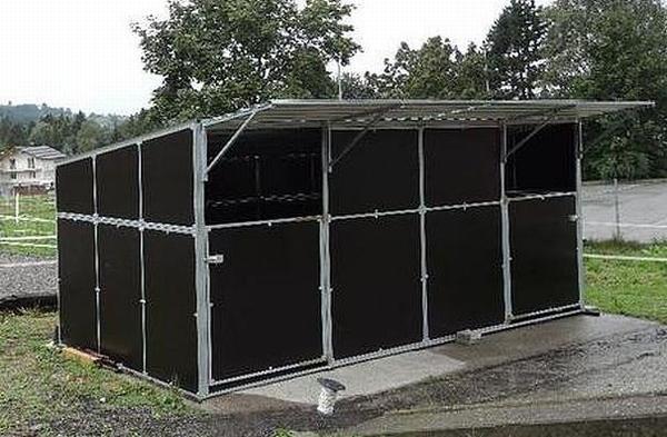 mobile au enboxen weideh tten komplett zerlegbar und r ckbaubar in neum nster pferde kaufen. Black Bedroom Furniture Sets. Home Design Ideas