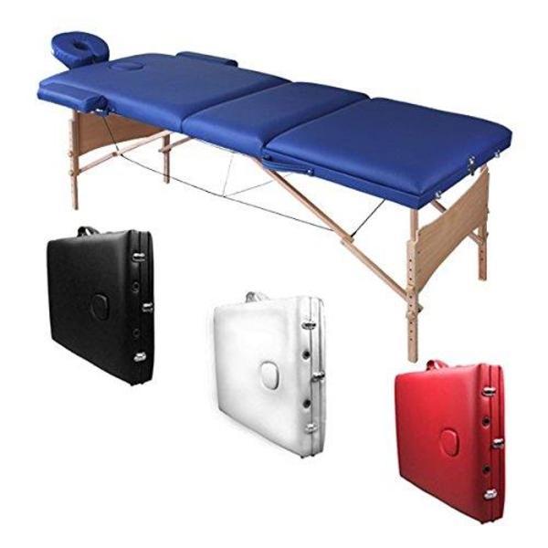 mobile massageliege vitality 3 zonen farbe rot mit tragetasche von bb sport in altlu heim. Black Bedroom Furniture Sets. Home Design Ideas