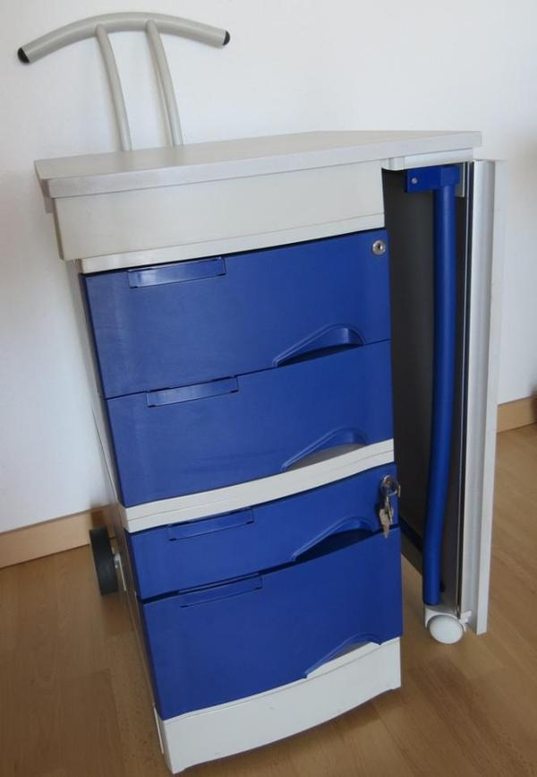 mobiler arbeitsplatz schreibtisch von leitz nur selbstabholer 70184 72764 72141 in. Black Bedroom Furniture Sets. Home Design Ideas