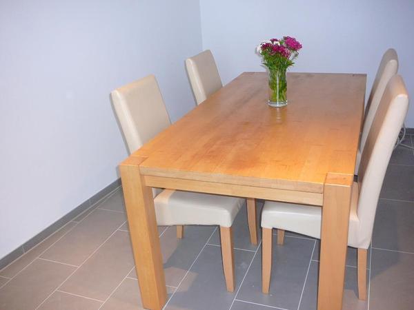 Barock esszimmer set gebraucht raum und m beldesign for Holztisch gebraucht