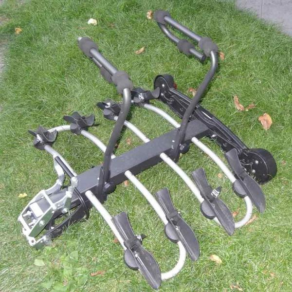 mottez 4 fach fahrradtr ger f r anh ngerkupplung in. Black Bedroom Furniture Sets. Home Design Ideas