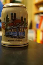 Münchner Tram Bierkrug