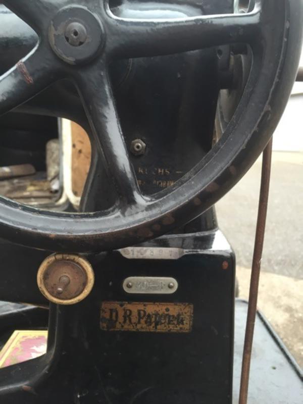 Nähmaschine für Leder Antiquität in Berglen  Sonstige