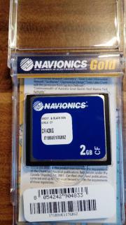 Navionics Gold XL9