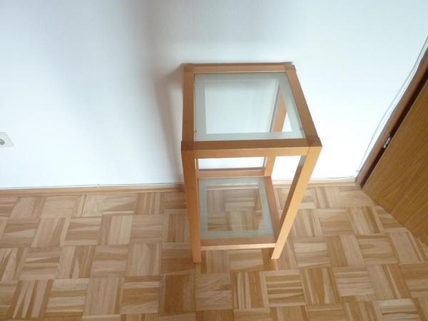 beistelltisch glas neu und gebraucht kaufen bei. Black Bedroom Furniture Sets. Home Design Ideas