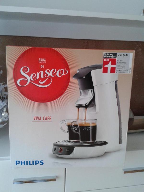 neu philips senseo kaffeepadmaschine 100 kaffeepads in viernheim kaffee espressomaschinen. Black Bedroom Furniture Sets. Home Design Ideas