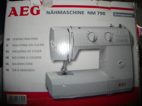 Neuwertige AEG Nähmaschine NM 790 in OVP in Schlangenbad  ~ Nähmaschine Aeg