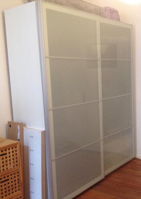 pax schiebet ren neu und gebraucht kaufen bei. Black Bedroom Furniture Sets. Home Design Ideas
