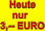 NUR 3,-- EURO * * * *