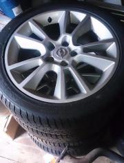 Opel Alufelgen + Winterreifen