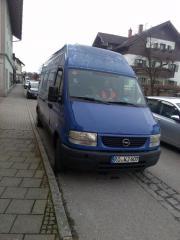 Opel Movano, Transporter
