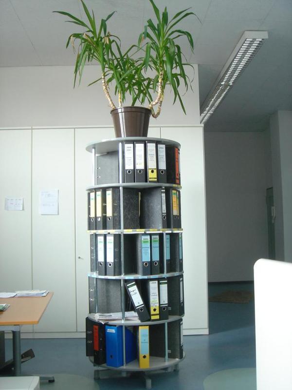 ordner drehs ule mit 5 etagen f r 120 ordner 180 eur in. Black Bedroom Furniture Sets. Home Design Ideas