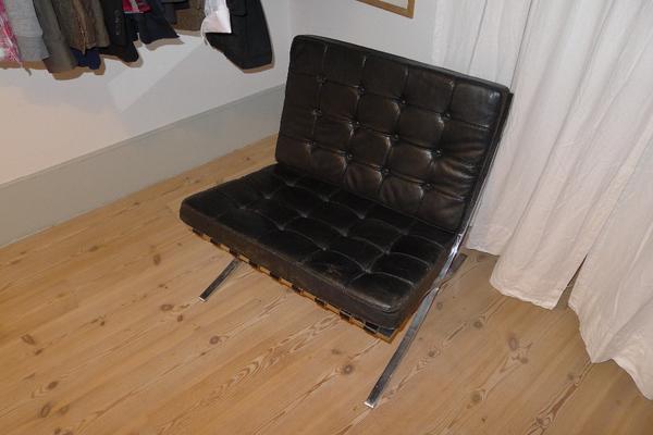 original barcelona chair knoll in heidelberg designerm bel klassiker kaufen und. Black Bedroom Furniture Sets. Home Design Ideas