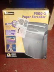 Papierschredder für den