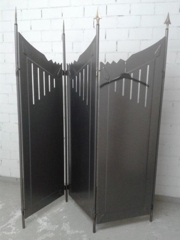 paravent aus metall in m nchen alles m gliche kaufen und. Black Bedroom Furniture Sets. Home Design Ideas