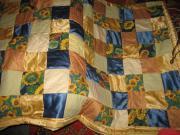 Patchwork Decke Handarbeit