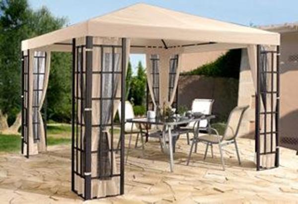 pavillon alu optik 3 x 3 m in isseroda sonstiges f r den garten balkon terrasse kaufen und. Black Bedroom Furniture Sets. Home Design Ideas