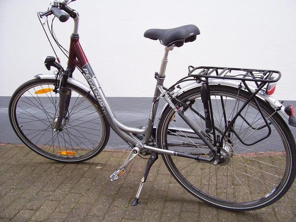 pegasus premio sl damen city bike in br hl damen. Black Bedroom Furniture Sets. Home Design Ideas