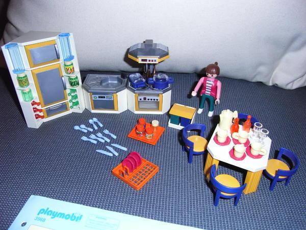 playmobil k che 3968 in m nchen kaufen und verkaufen ber private kleinanzeigen. Black Bedroom Furniture Sets. Home Design Ideas