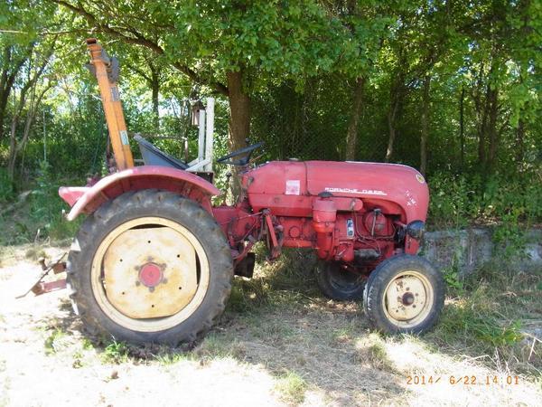 porsche traktor schlepper f217 in weil der stadt. Black Bedroom Furniture Sets. Home Design Ideas
