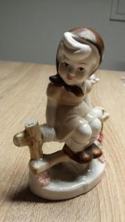 Porzellanfiguren Junge und
