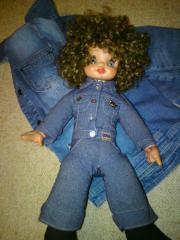Puppe-Jeans Puppe